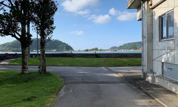 大宜味村白浜の集落